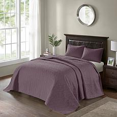 Madison Park Quebec Reversible Bedspread Set - Twin