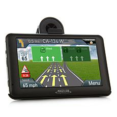 "Magellan 5"" Touch GPS with Lifetime Maps and Dash Cam"