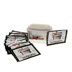 Magic Cook Triple-Layer Lunch Box with 11 Refill Heat Packs