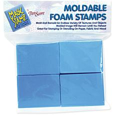 Magic Stamp Moldable Foam Stamps Block Set - 8-pieces