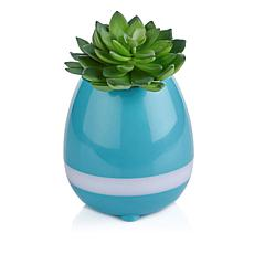 Magic Touch Planter with Bluetooth Speaker