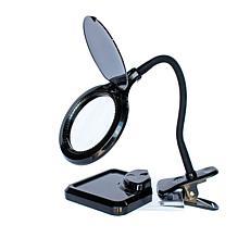 MagnaVue Hands-Free LED Magnifier Lamp