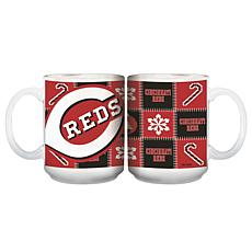 Major League Baseball Ugly Sweater Mug - Cincinnati Reds