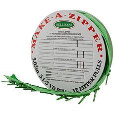 Make-A-Zipper 5-1/2yd. Kit - Medium Green