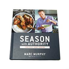 "Marc Murphy ""Season with Authority"" Handsigned Cookbook"