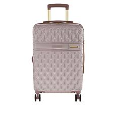 "Marcy McKenna Jet Setter 22"" Quilted Hardside Wheeled Carry-On Luggage"