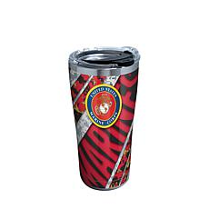 Marines 20 oz Stainless Steel Tumbler with lid
