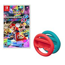 """Mario Kart 8"" Nintendo Switch Steering Wheel Bundle"