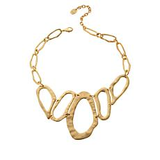 """MarlaWynne 18"""" Abstract Collar Necklace"""