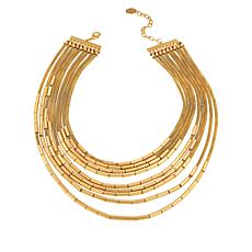 "MarlaWynne 19-3/4"" Multi-Layer Mesh Link Necklace"