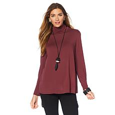 MarlaWynne Butterfly Turtleneck Tee
