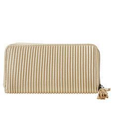 MarlaWynne Corrugated Zip-Around Wallet