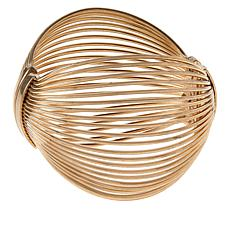 MarlaWynne Domed Matte Wire Bangle
