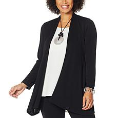 MarlaWynne Luxe Jersey Topper with Pockets