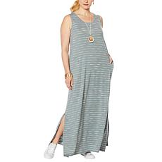 MarlaWynne Maxi Dress with Pockets