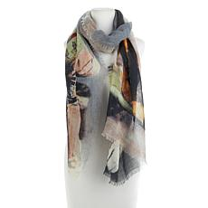 MarlaWynne Multicolored Printed Scarf