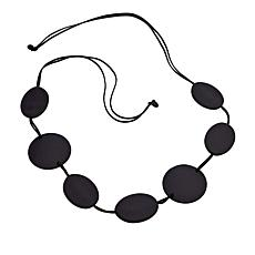 MarlaWynne Oval and Dot Convertible Belt/Necklace