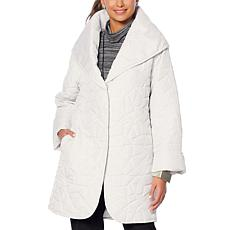MarlaWynne Reversible Lightweight Quilted Coat