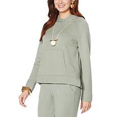 MarlaWynne SoftKNIT Hoodie with Pockets