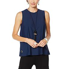 MarlaWynne Stretch Tech Sleeveless Top