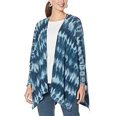 MarlaWynne Tie Dye Sweater Knit Cardigan