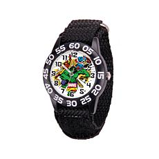 Marvel Hulk Kid's Time-Teacher Watch with Black Strap