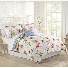 MaryJane's Home Primavera 5pc Comforter Set - King