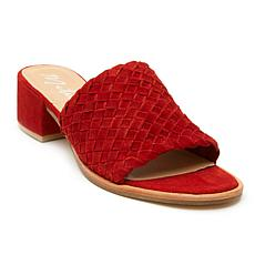 Matisse Andi Hand-Woven Suede Sandal