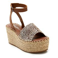 Matisse Trapeze Leather Wedge