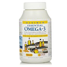 Maximum Essential Omega-3 - No Fishy Taste - Orange - 360 Capsules