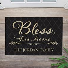 MBM Bless This Home Personalized Doormat