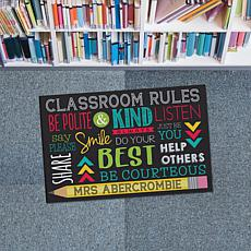 MBM Classroom Rules Personalized Doormat