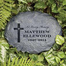 MBM In Loving Memory Personalized Garden Stone