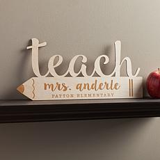 MBM Special Teacher Personalized Wood Keepsake