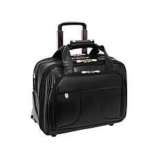 McKlein Chicago Case with Detachable Wheels/Handle