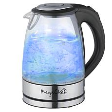 MegaChef 1.7L Glass & Stainless Steel Electric Kettle