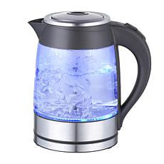 MegaChef 1.8L Glass & Stainless Steel Electric Kettle