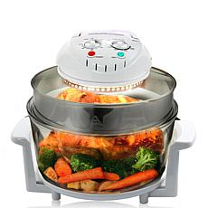 MegaChef Multipurpose Countertop 14.25 Inch Halogen Oven Air Fryer/...