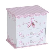 Mele & Co. Angel Girl's Ballerina Jewelry Box