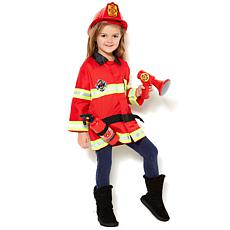 Melissa & Doug Fire Chief Costume with Accessory Set