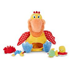 Melissa & Doug Hungry Pelican Plush Play Set