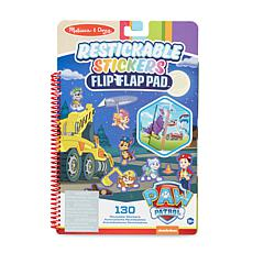 Melissa & Doug Paw Patrol Restickable Stickers Flip-Flap Pad - Rescue