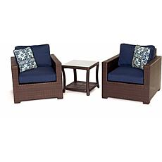 Metropolitan 3-Piece Chat Set - Navy Blue