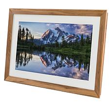 "Meural Winslow 27"" Smart Canvas Art and Picture Modern Frame"