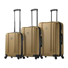 Mia Toro Italy Baggi 3pc Spinner Luggage