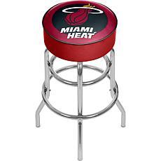 Miami Heat NBA Padded Swivel Bar Stool