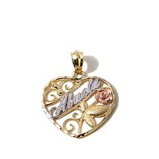 "Michael Anthony® 10K Gold Tri-Tone ""Abuela"" Pendant"