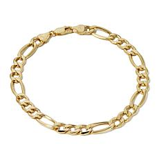Michael Anthony 10k Yellow Gold Figaro 9 Bracelet