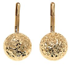 Michael Anthony Jewelry® 10K Diamond-Cut Ball Earrings