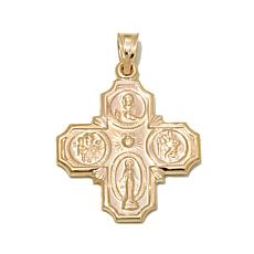 Michael Anthony Jewelry® 10K Scapular Cross Medal